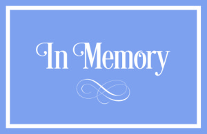 In Memory Graphic